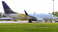 Boeing 737-7Z5 BBJ - A6-RJZ -