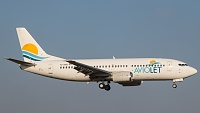 Boeing 737-3H9 - YU-AND -