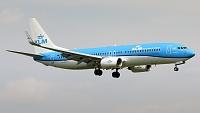 Boeing 737-8K2 - PH-BXZ -