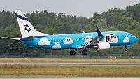 Boeing 737-8Z9 - 4X-EKU -