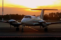 Beech 200 Super King Air - HB-GLB -