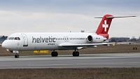 Fokker 100 (F-28-0100) - HB-JVE -