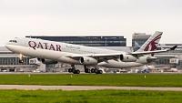Airbus A340-313X - A7-AAH -